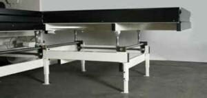 Höj- och sänkbart anslagsbord - CIDAN Machinery