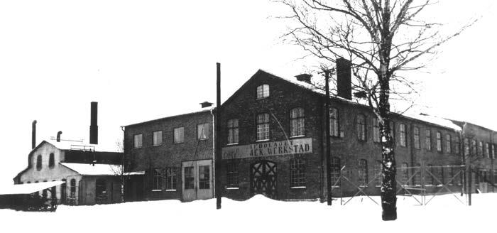 Göteneds Mekaniska Verkstad, early 1900's