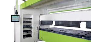 PRO Z up down sheet metal folder folding beam lower position - CIDAN Machinery Americas