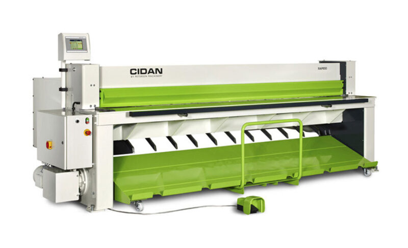 RAPIDO Sheet Metal Shear - CIDAN Machinery Americas