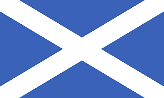 Great Britain Scotland flag