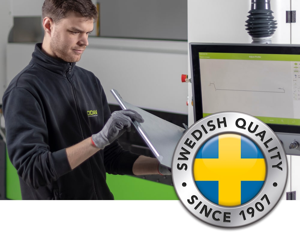 Cidan - Swedish quality since 1907