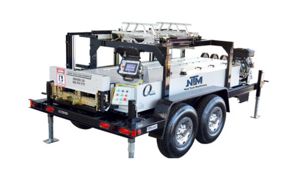 New Tech Machinery SSQ MultiPro Roof Panel Portable Rollforming Machine