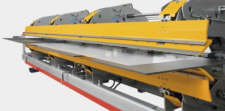 Thalmann TD Long Metal Folding Machine Sheet Support Handling Table
