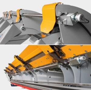 Thalmann TZ Long Metal Folding Machine Torsion Shaft Lower Beam