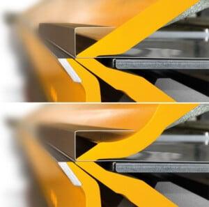 Thalmann Long Folder Curved Upper Beam