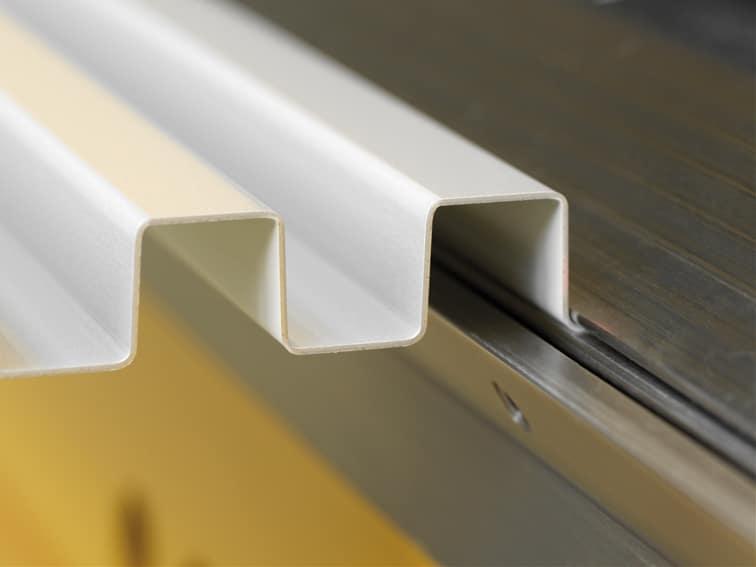 Thalmann Long Metal Folding Machine Recessed Lower Beam