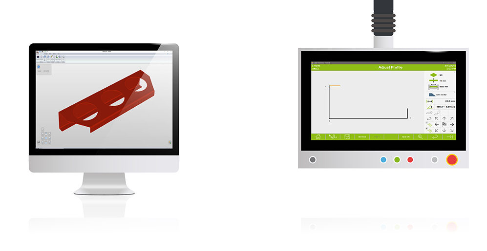 Screens with ProLink cad drawings