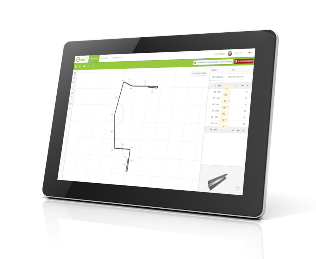 Tablet with nuEvolution