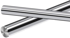Hardchromed straightening roller
